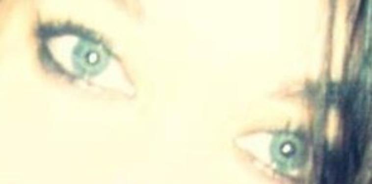 Mes yeux bleu,vert et gris