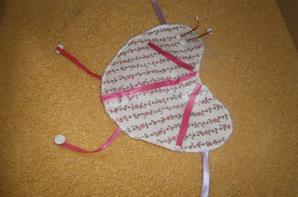 Mes créations : Couverture et licol rose