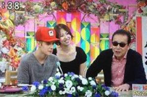 Justin on Japenese TV show IITOMO