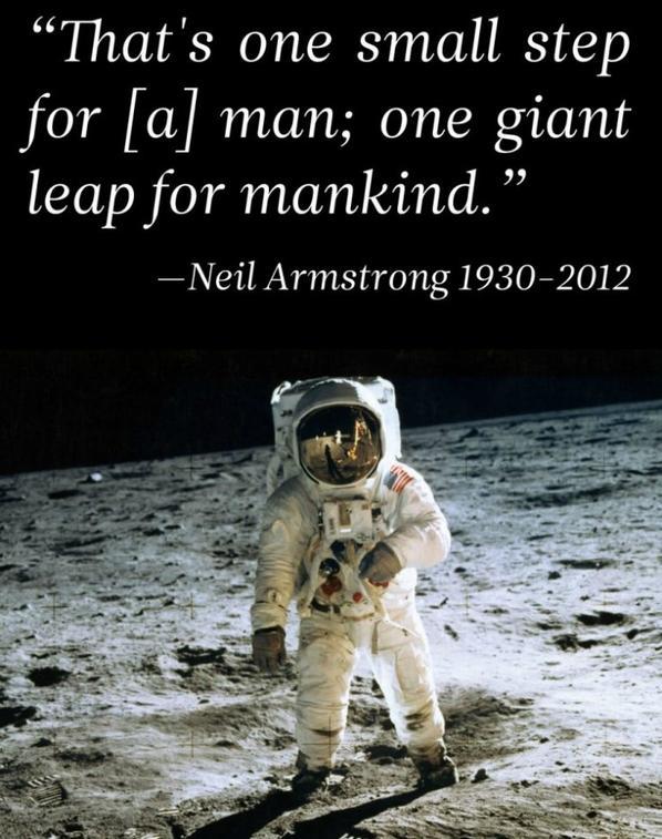 NEIL ARMSTRONG / Astronaute USA (1930 – 2012)