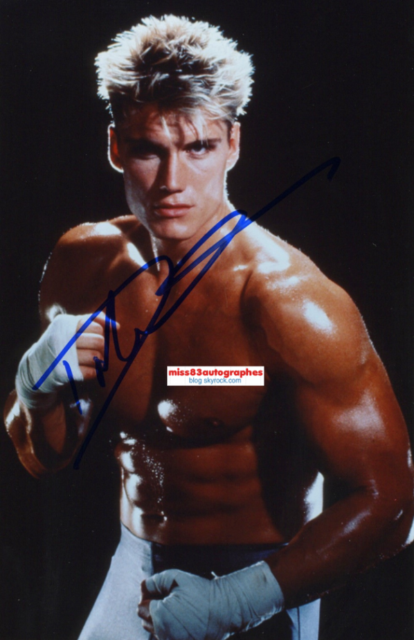 DOLPH LUNDGREN  (Rocky - The Expendables ...)