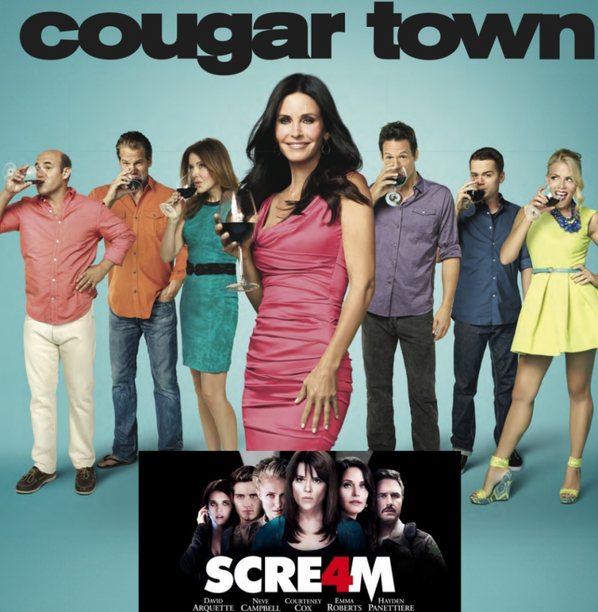 COURTENEY COX ( Friends-Cougar Town-Scream ...)