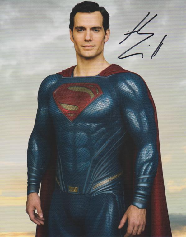HENRY CAVILL (Superman)