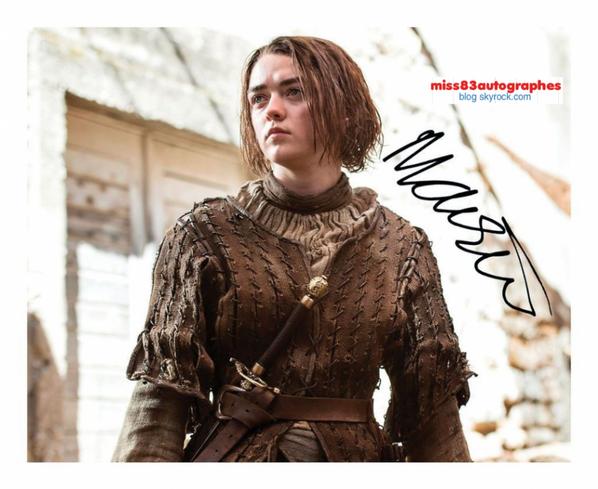 MAISIE WILLIAMS ( Game of Thrones )