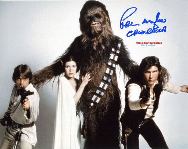 PETER MAYHEW  (1944 - 2019) RIP (Chewbacca / Star Wars)