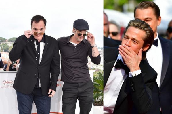 BRAD PITT  (Festival de Cannes 2019)