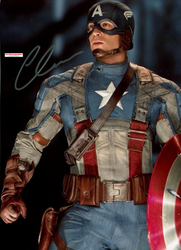 CHRIS EVANS (Captain America)
