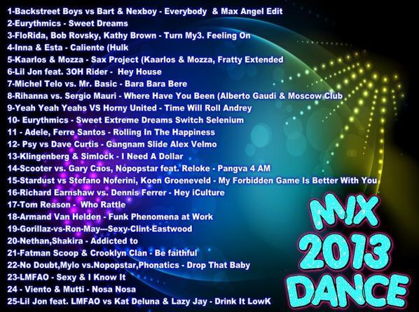 DJ YORI LAMINE MIX DANCE 2013