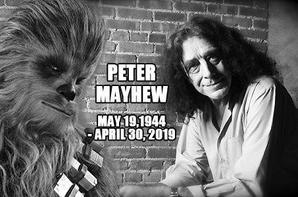 L'immense Peter Mayhew est mort et le Chewbacca original avec lui