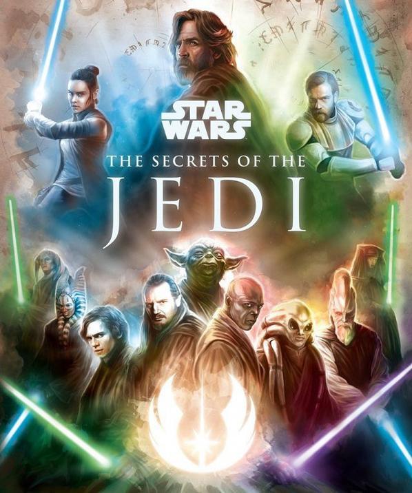 Un livre sur l'histoire des Jedi racontée par Luke Skywalker