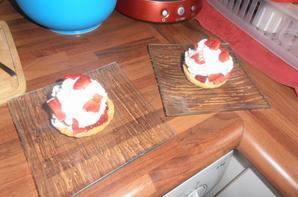 Minis tartelettes aux fraises