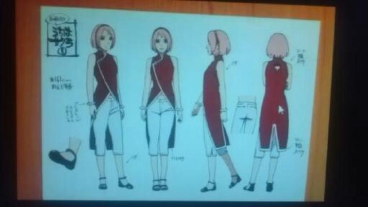 cosplay la suite (sakura dans boruto)