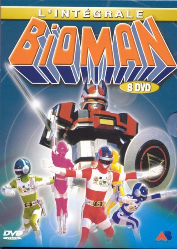 Bioman et Power Rangers - MangAddict