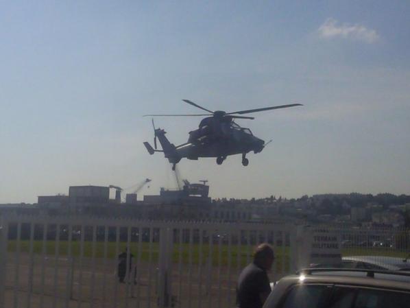 Hélicoptère de combat TIGRE à Brest