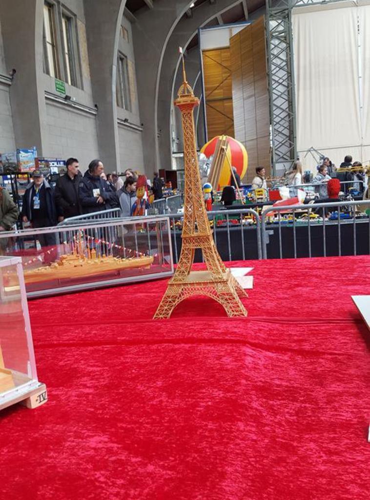 Maquette expo de Cherbourg 1