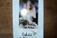 Delphine Wespiser-Miss France 2012 et candidate à l'élection Miss Monde 2012