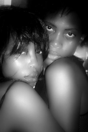 My lovely sexfriend Ivory and me...