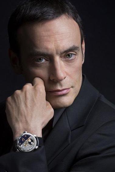 Anthony Delon nouvel ambassadeur des montres DeWitt.