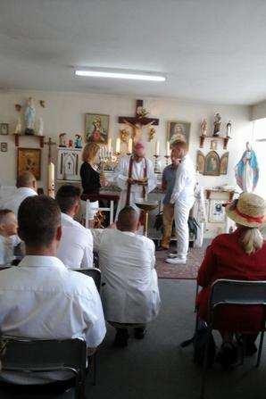 baptêmes dans notre chapelle primatiale de Reims