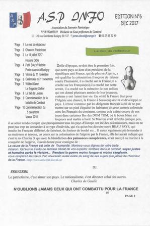 GAZETTE A.S.P    N°6