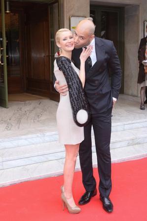Xavier & Tatiana-Laurens DELARUE  au Gala Amnesty International (Visual Presse Agency)