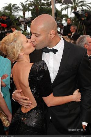 Xavier & Tatiana-Laurens in Festival de Cannes 2013 (By Exposay.com)