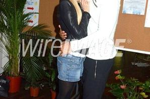 """Tatiana-Laurens & Xavier DELARUE in Association """"Enfant Star & Match"""" 2014"""
