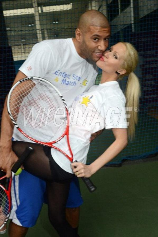 Tatiana-Laurens & Xavier Delarue in Enfant Star & Match (17/03/2014)