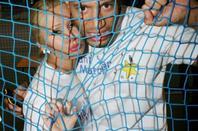 Xavier Delarue & Tatiana-Laurens in Enfant Star &  Match (By PurePeople) 17.03.2014