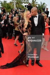 Tatiana-Laurens & Xavier DELARUE in Getty Images (#Cannes2014) Part2
