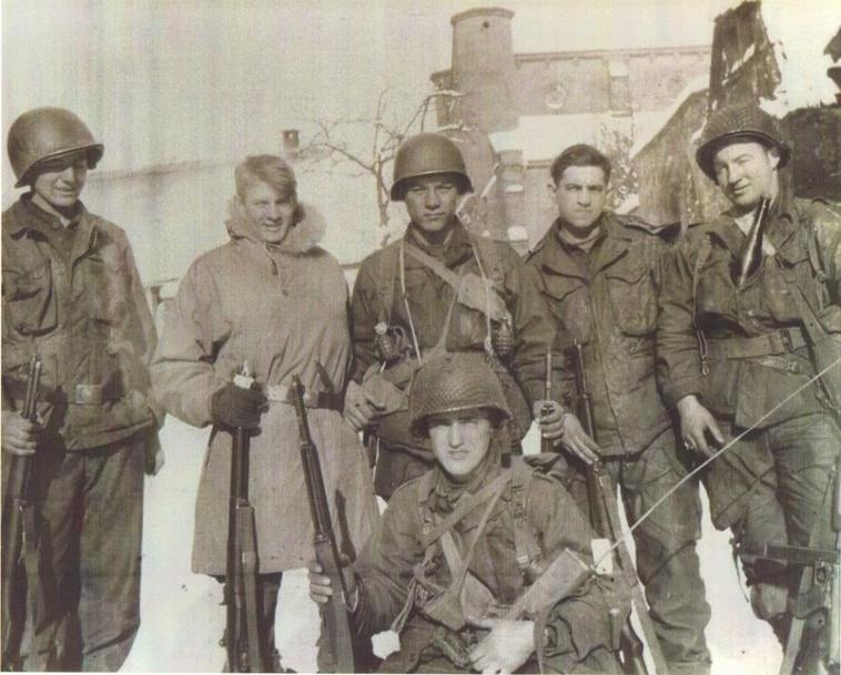 Dauendorf   101 Airborne Division en Alsace