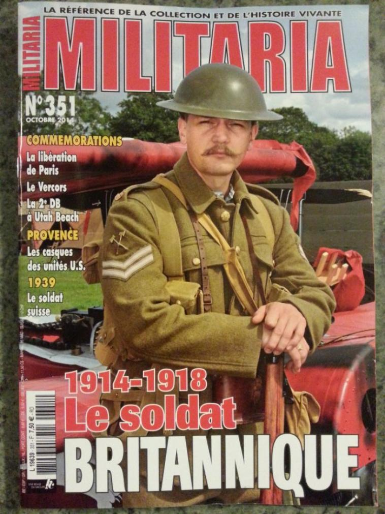 le nouveaux Militaria Octobre 2014