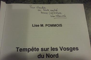 Livre de l'auteur Madame Lise M.Pommois