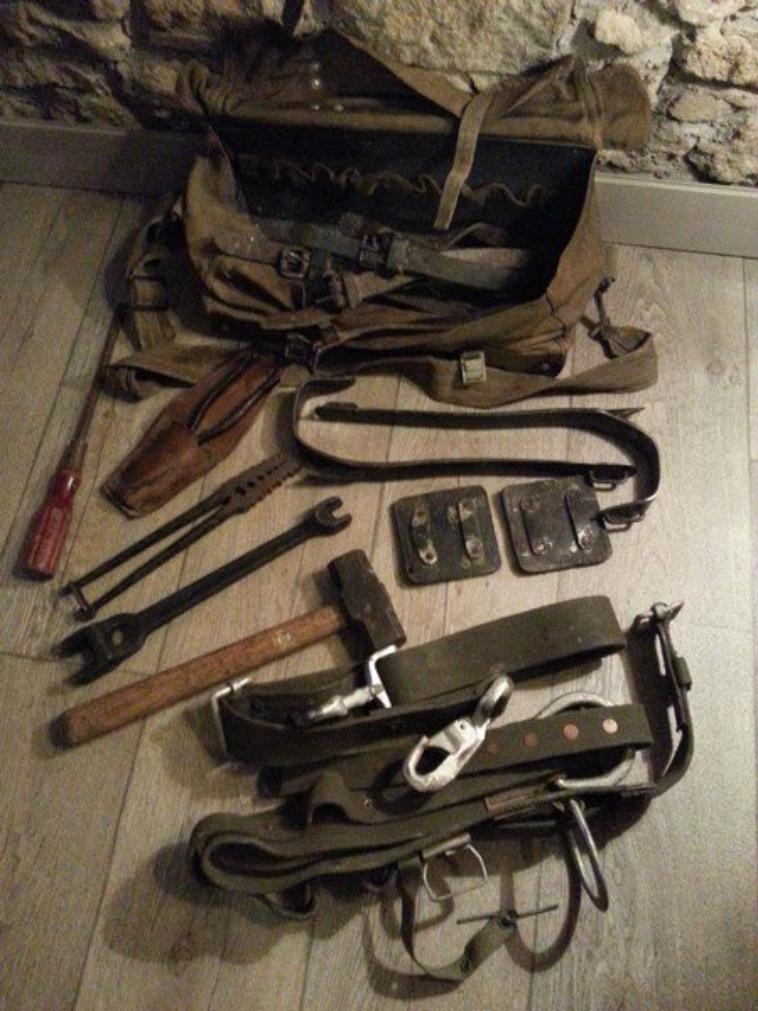 montage de ligne trousse à outils sac caisse BAG BG 44.39