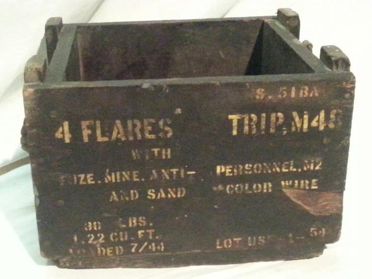 Caisse pour mine tripe Flare M48