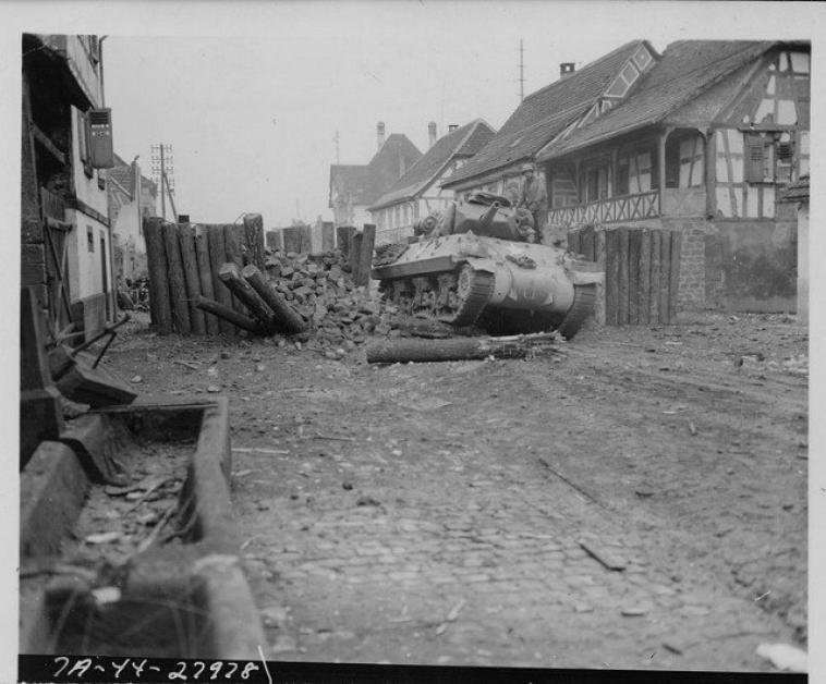 Lambach Moselle 645th Tank Destroyer Battalion 14 December 1944