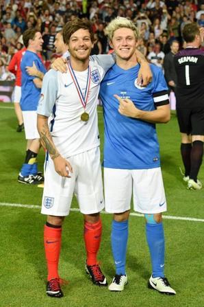 Tommo et Nialler adversaires au Soccer Aid 2016 !