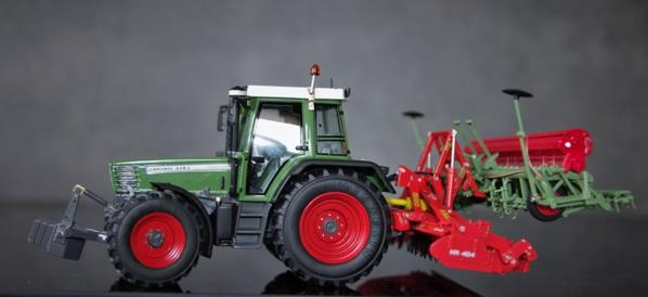 Fendt 514C + ensemble semi Kuhn Nodet