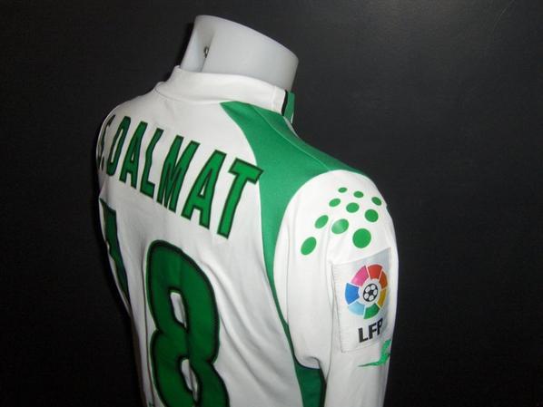 Maillot porté par Dalmat au Racing Santander 2005/2006