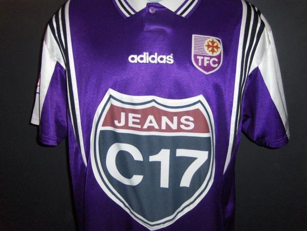 Maillot de Laurent Sachy saison 1996/1997