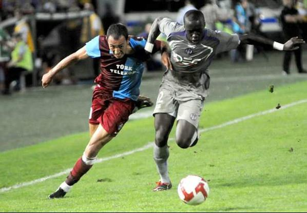 Photo du match Trabzonspor TFC du 20/08/2009
