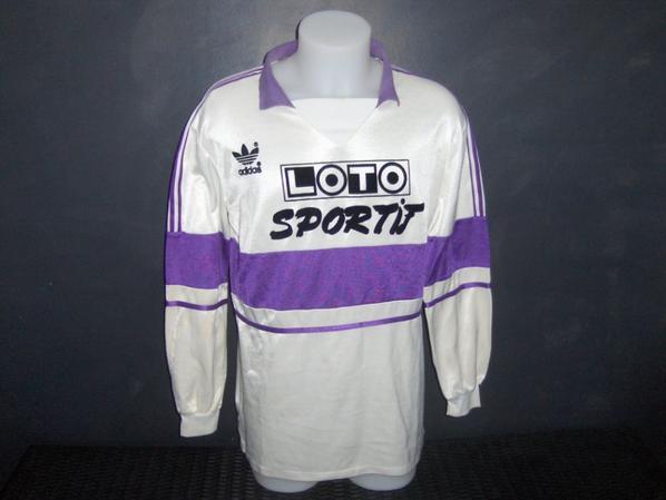Maillot porté Par Beto Marcico lors du match Alés/TFC le 16/02/1990 en coupe de france