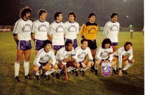 Photos de Jean Luc Sassus avec ce maillot et de l'équipe 1981/1982
