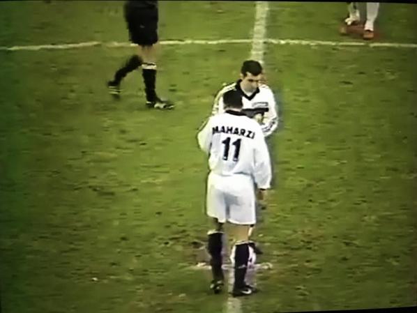 Photos d'Ahmed Maharzi lors du match METZ TFC su 03/02/1999
