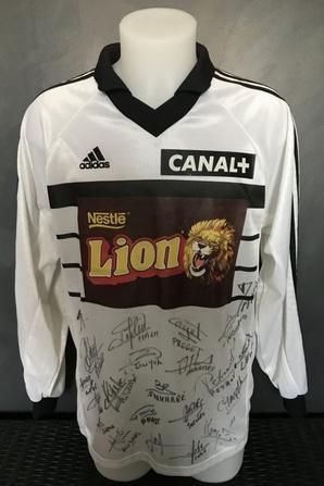 METZ TFC quart de finale CDL du 03/02/1999 4 maillots du même match  !