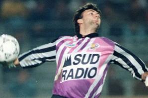 Photos de Fabien Barthez lors de la saison 1991/1992 et photo de Robin HUC saison 1990/1991