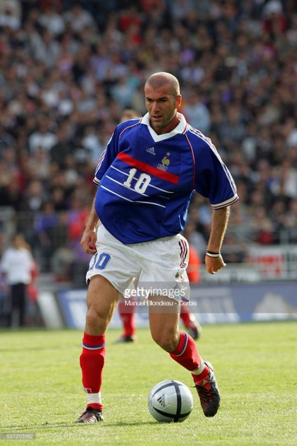 Photos de Zinedine Zidane lors du match TFC FRANCE 98 du 30/05/2005