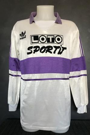 Mes deux maillots coupe de france Loto Sportif : 1988/1989 et 1989/1990