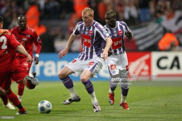 Photos de Jeremy Mathieu lors de la saison 2008/2009 en coupe de France.