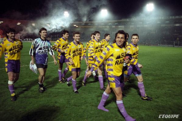 Photos de Béto Marcico lors de son dernier match au Stadium saison 1991 1992
